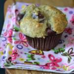 Muffiny bananowo-wiśniowe (ewentualnie czereśniowe)...