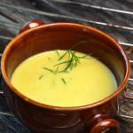Zupa krem ze strąków groszku