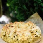 Ziołowy chleb czosnkowy odrywany