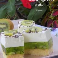 kostka jogurtowa z kiwi
