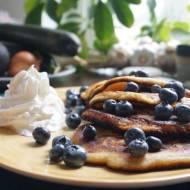 Puszyste naleśniki (pancake) z borówkami