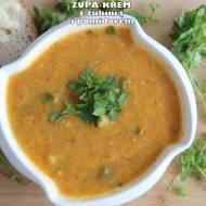 Zupa-krem z cukinią i pomidorami