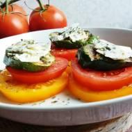 Grillowana cukinia z pomidorami