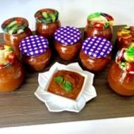 Słodko-kwaśny sos z cukinii