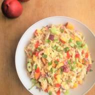 Sałatka z kurczakiem i nektarynką / Chicken and Nectarine Salad