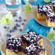 Ciasto z borówkami
