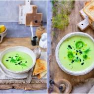Krem ogórkowy z kawiorem / Cucumber cream with caviar