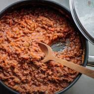 Tagliatelle w sosie bolońskim