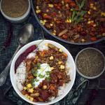 Chili con carne z fasolką szparagową