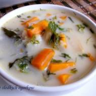 Zupa ze słodkich ogórków