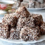 Ciasteczka z wiórkami kokosowymi Lemingtony Kudłacze + filmik