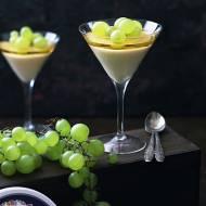 Mini serniczki szampańskie