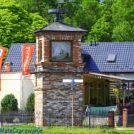 Zabytkowa Huta Żelaza - zabytkowy zegar wieżowy w Chlewiskach woj. mazowieckie