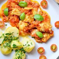 Dorsz w pomidorach - prosto, zdrowo, smacznie