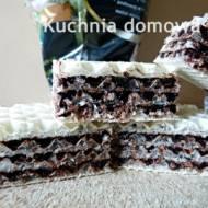 Wafle mocno kakaowe