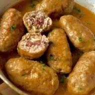 Faszerowane zrazy z mięsa mielonego