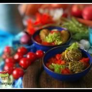 Gołąbki z karmelizowanymi pomidorami