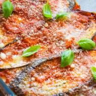 Parmigiana di melanzane – zapiekanka z bakłażanów FIT