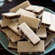 Wafle czekoladowo-miętowe