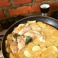 Delikatne curry z kurczaka