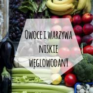 Owoce i warzywa o niskiej zawartości węglowodanów