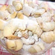 Rogaliki z dżemem wiśniowym