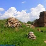 Ruiny zamku w Bobrownikach woj. kujawsko - pomorskie