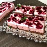 Malaga – wiśniowe ciasto bez pieczenia