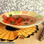 Zupa pomidorowo - groszkowa