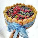 letni tort bez pieczenia