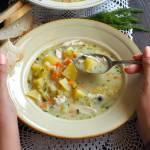 Idealna zupa ogórkowa. Przepis krok po kroku.
