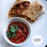 Chili con carne zapiekane w tortilli