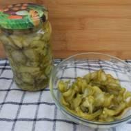 Sałatka z ogórków z chilli