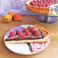 Czekoladowa tarta z malinami / Chocolate Rasberry Tart