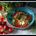 Kapusta z pomidorami i papryką