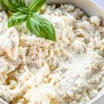 Przepyszna domowa ricotta (3 składniki)