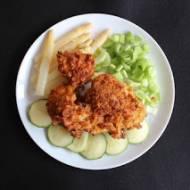 Filet z kurczaka w pikantnym cieście i płatkach kukurydzianych
