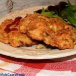 Placuszki z kurczaka z pieczarkami - siekane kotlety z kurczaka