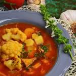 Włoska zupa kalafiorowa