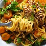 Jednogarnkowe spaghetti z cukinią
