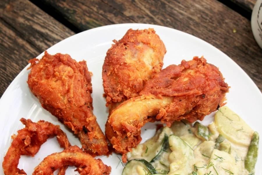 Pałki z kurczaka w chrupiącym cieście