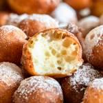 Zeppole – mini pączki z ricotty (6 składników)