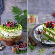"""Tort """"Leśny mech"""" / """"Forest moss"""" cake"""