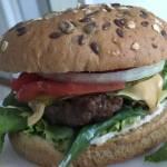 Pyszny domowy burger