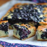 Kefirowe ciasto z owocami