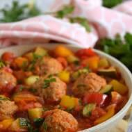 Pulpety serowe z warzywami