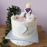 Tort cieniowany z Aniołkiem