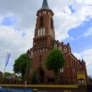 Zabytkowy kościół św. Jana Chrzciciela w Kazimierzu woj. łódzkie