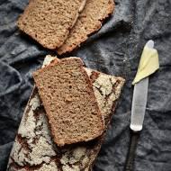 Chleb 100% żyto- podstawowy przepis na chleb żytni na zakwasie