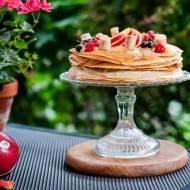 Tort naleśnikowy z owocami